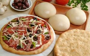 тесто для пиццы фото